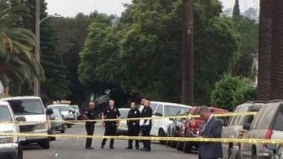 惨剧 美国洛杉矶发生枪击 枪手开20多枪致3死12伤