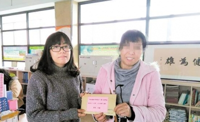 学费有着落了!蓬江区14名单亲困难学子收到爱心助学金
