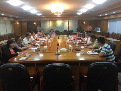 广东省科协调研组一行到江海区开展科技人才服务工作调研