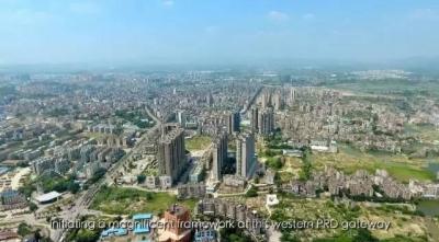 鹤山沙坪城区发生大变化 创文让城市更美好!