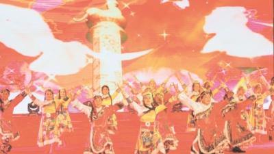 紀念建軍90周年文藝晚會走進棠下鎮三堡村