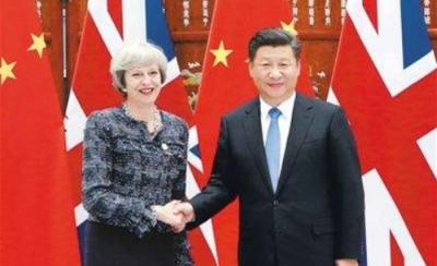 习近平应约同英国首相特雷莎·梅通电话