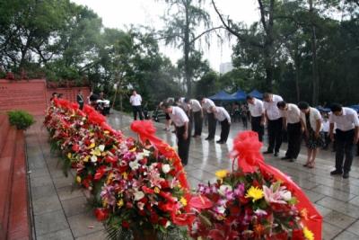 致敬英雄!我市舉辦烈士紀念日公祭活動