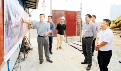 彭章瑞连续三天现场办公 推动重大项目顺利建设