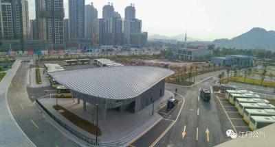 滨江体育中心枢纽站和61路公交线28日同时启用