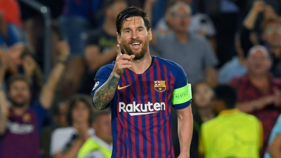 梅西歐冠第八次戴帽 巴薩四球大勝埃因霍溫
