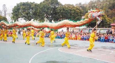 """荷塘镇:龙""""舞""""棋""""行""""耀南国"""
