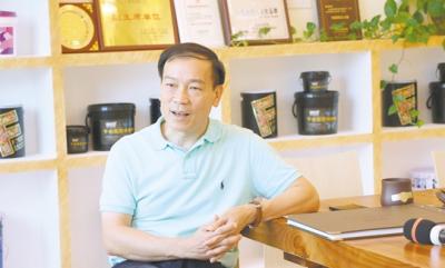 广东千色花化工有限公司董事长黄达昌: 稳健经营 专注创新