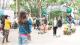 重阳节石花山公园迎来人流高峰