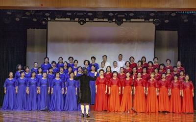 江门市老干部大学声乐专业期末展演