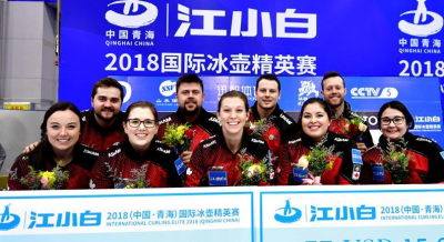 加拿大、德国分获青海国际冰壶精英赛男女冠军