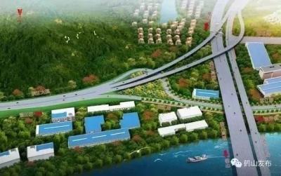 推动城市扩容提质!鹤山滨江路将于今年底全线通车
