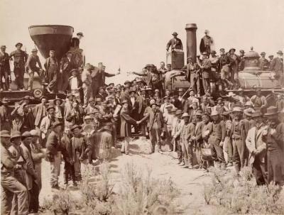金色道钉—美国铁路华工展在广东华侨博物馆展出