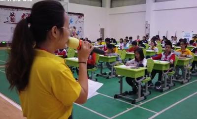 江門市小學生現場寫作大會江海舉行 現場佳作讓人驚艷