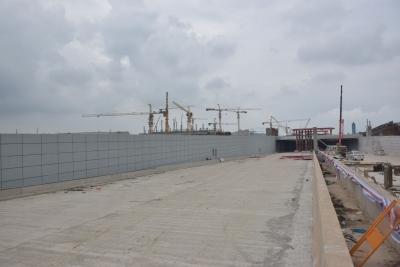 江门站江门大道下穿隧道主线计划6月30日前投入使用