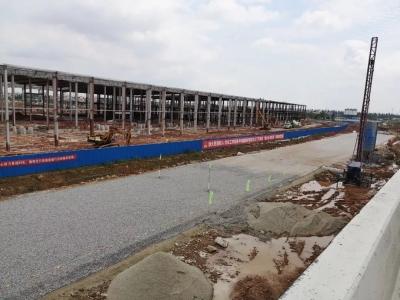 【项目提质】会港大道将于5月底完成临时路面铺筑