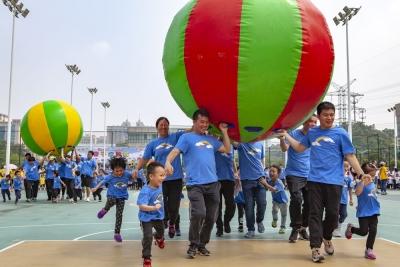 信志幼儿园亲子运动会