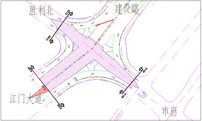 今晚8点,胜利路-迎宾路交叉口全封闭沥青施工,禁止车辆直行,请注意绕行