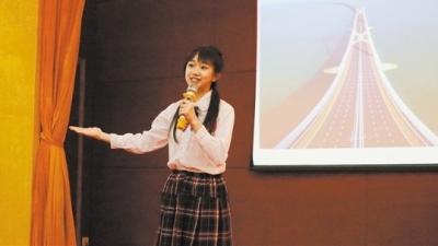 """""""我为祖国点赞"""":我市举办主题演讲选拔赛 两位同学将代表江门出战省赛"""