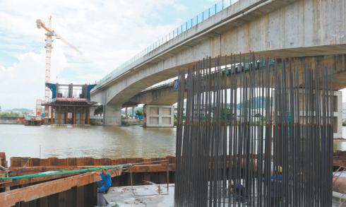 江门大道江门站段下穿隧道主道预计月底完工