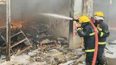 今年上半年,江门市火灾指数平稳下降