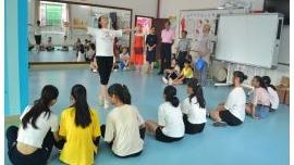 蓬江区乡村学校少年宫暑期班活动陆续开课