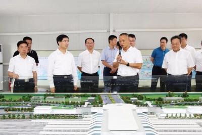 肇庆市党政代表团到我市考察 推动江肇加强合作携手发展