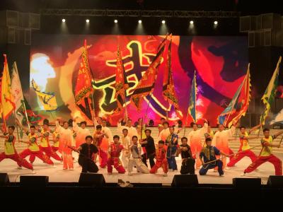 江门赴港参加庆祝香港回归祖国22周年晚会