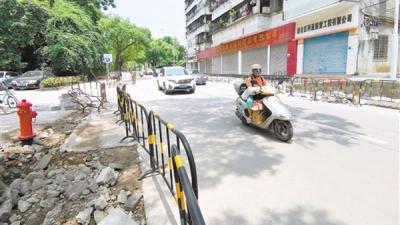 新会区升级改造5条道路  提升市民行车体验