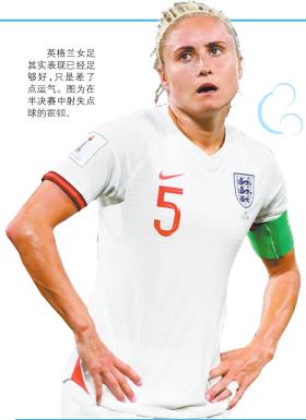 魔咒延續|英格蘭女足又射失點球 無緣創歷史