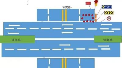 注意!江海区连海路科苑路将实施临时交通管制!