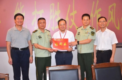 刘毅率团开展拥军优属慰问 携手共创全国双拥模范城