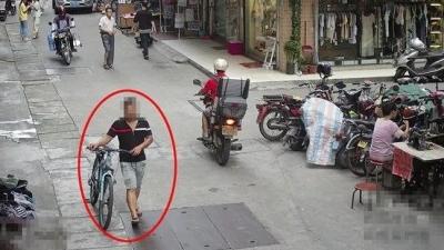 事发新会!他连偷12辆电动车!作案原因竟是这个……