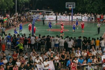 鶴山市成功舉辦2019年鶴山市千村(居)籃球賽