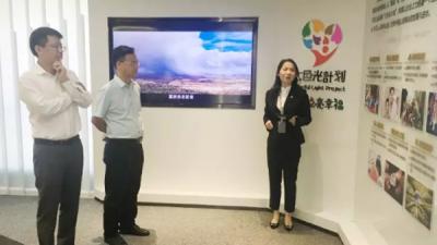 劳茂昌赴上海招商考察 强力推进重大项目落地