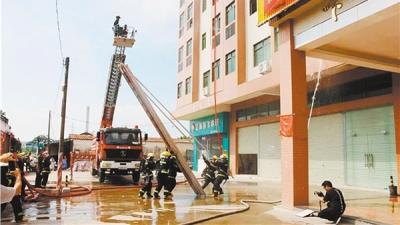 高新区(江海区)进一步加强火灾防控工作