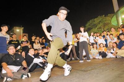 數十名街舞愛好者 同臺競技