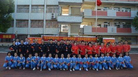 """江门市第八中学:""""红色教育""""融入校园文化建设"""