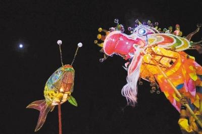 500多年传承 荷塘纱龙:绵延不绝的乡情纽带