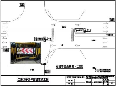 注意!江海区这五个路段将实行交通管制!