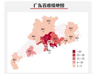 广东新增42例!新增出院2例