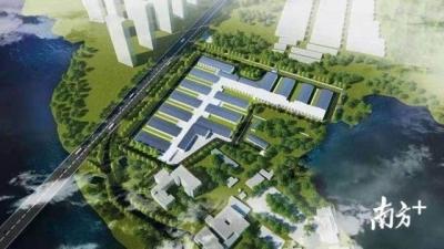 战疫影像日记 火神山医院首栋箱式板房开始搭设,预计2月2日建成