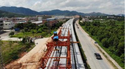 广佛江快速通道(三江—南门大桥)项目按下复工启动键  预计今年10月实现左幅通车