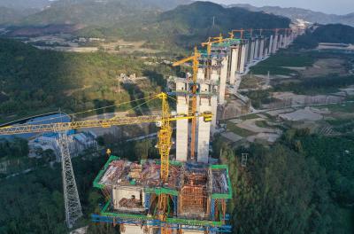各重点控制性工程已有序复工 开春高速江门段复工率达八成