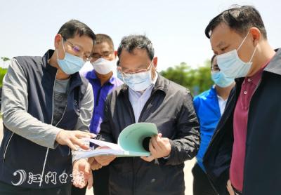 刘毅赴鹤山检查森林防灭火工作
