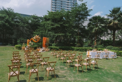 江门富力万达嘉华酒店云婚礼圆满礼成 ---户外婚礼重启2020,依旧爱你爱你