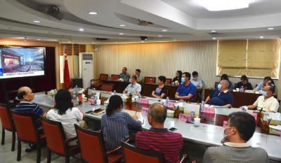 市政协组织收看全国政协十三届三次会议开幕会