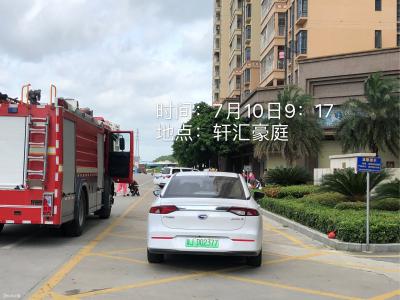 【曝光台】开平对占用消防车通道的违法行为进行持续曝光!!