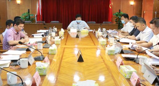 高新区(江海区)召开党委会议 把各级党组织锻造得更加坚强有力