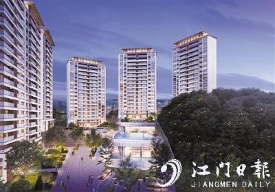 蓬江城區推出一個全新樓盤